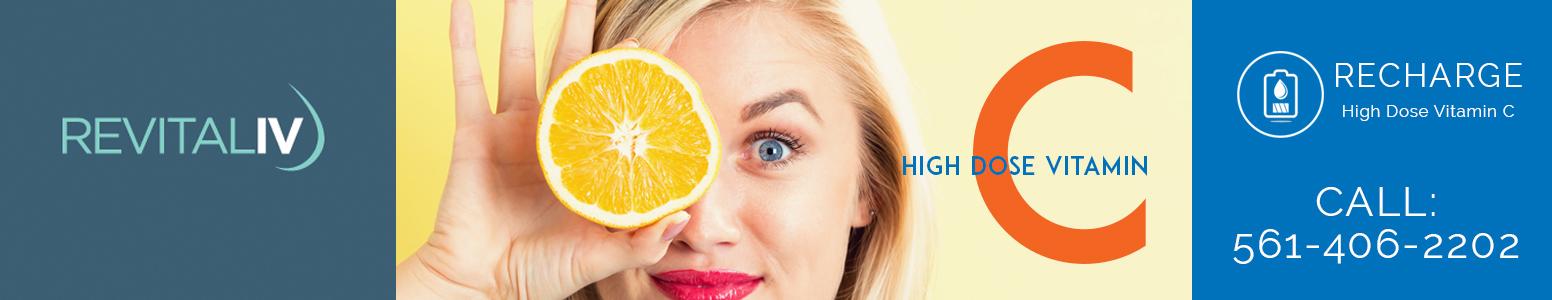 High Dose Vitamin C Promotion Banner 2 Revitaliv