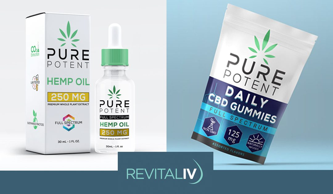 We Now Offer CBD Products!